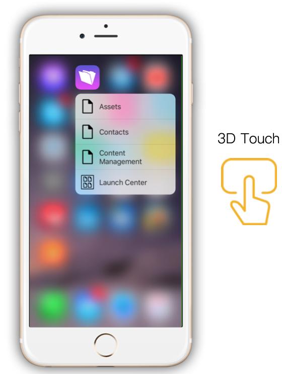 FileMaker 3D Touch