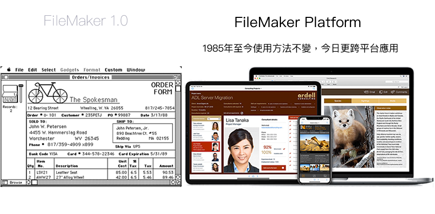FileMaker 跨平台企業應用