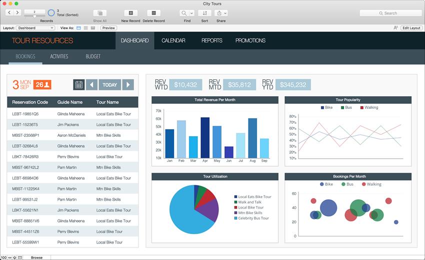 FileMaker 數位資源整合範例