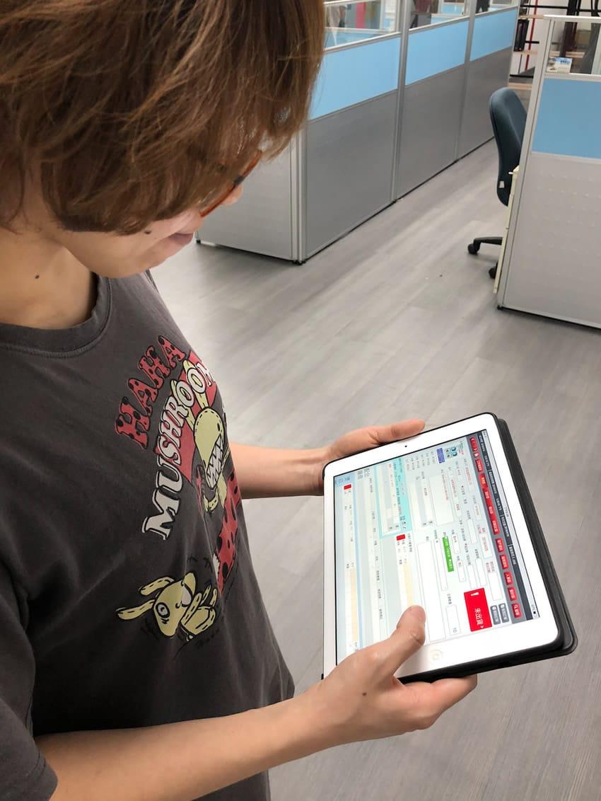 FileMaker 在iPad上使用ERP實況